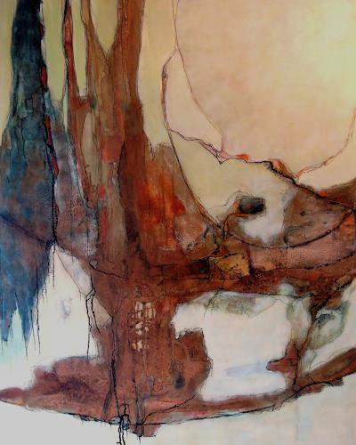 Ursula Venosta, Regenwald I, Fantasy, Contemporary Art, Expressionism