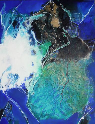 Ursula Venosta, Serie Liberado IV, Abstract art, Action Painting, Expressionism