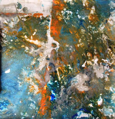 Ursula Venosta, Es malt mich, Fantasy, Procesual Art, Abstract Expressionism
