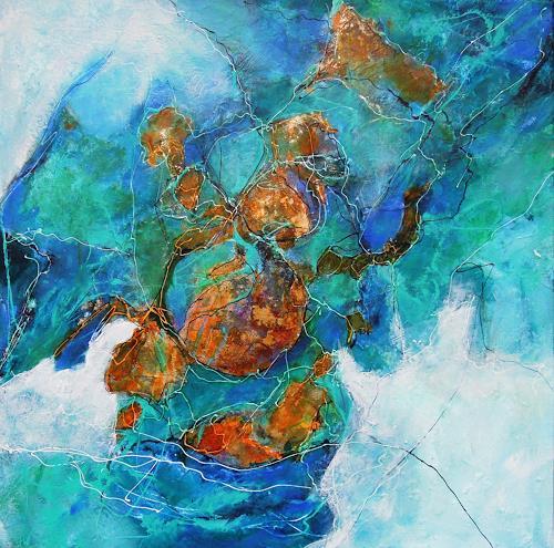 Ursula Venosta, Erde und Wasser, Nature: Miscellaneous, Abstract Expressionism, Expressionism