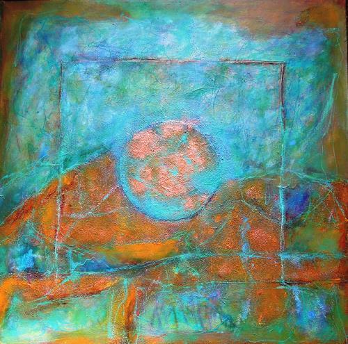 Ursula Venosta, Herbstnebel, Nature: Earth, Abstract Art, Expressionism