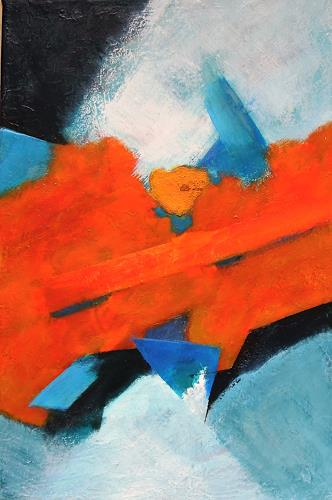 Ursula Venosta, Neue Welt I, Abstract art, Contemporary Art