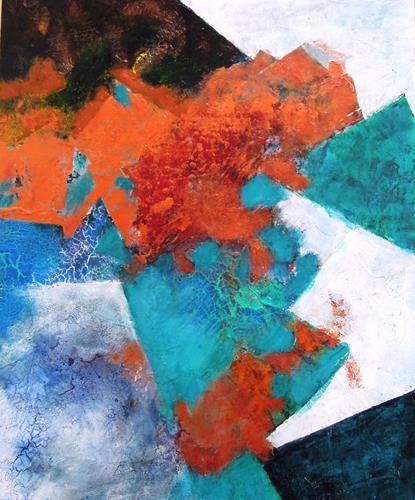 Ursula Venosta, Traumzeit 1, Fantasy, Abstract Expressionism, Expressionism