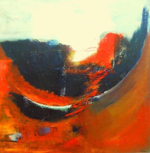 Karin Zimmermann, Umschwung, Abstract art, Movement, Abstract Expressionism
