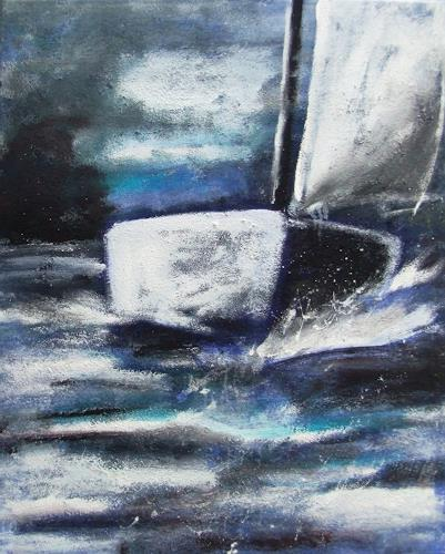 Karin Zimmermann Art Nature: Water Landscapes: Sea/Ocean Contemporary Art