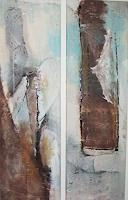 Karin Zimmermann Art Abstract art Landscapes: Beaches Contemporary Art