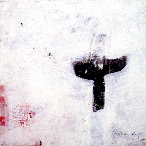 Josef Winkler, untitled, Abstract art, Non-Objectivism [Informel]