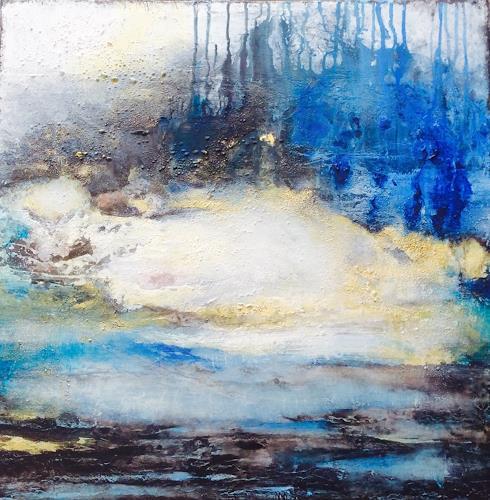 ingeborg zinn, Im alten Land, Landscapes, Abstract art, Abstract Expressionism