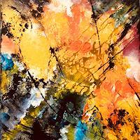 ingeborg-zinn-Abstract-art-Decorative-Art-Modern-Age-Expressionism-Abstract-Expressionism