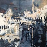 ingeborg-zinn-Abstract-art-Landscapes-Modern-Age-Expressionism-Abstract-Expressionism