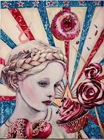 Ute-Bescht-People-Children-Decorative-Art-Modern-Age-Pop-Art