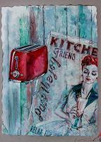 Ute-Bescht-People-Women-Decorative-Art-Modern-Age-Expressive-Realism