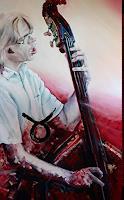 Ute-Bescht-Music-Musicians-People-Portraits-Modern-Age-Expressive-Realism