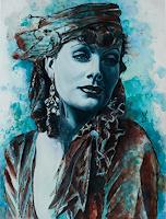 Ute-Bescht-People-Portraits-People-Women-Modern-Age-Photo-Realism-Hyperrealism