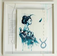 Ute-Bescht-People-Women-Miscellaneous-Emotions-Modern-Age-Avant-garde-Surrealism