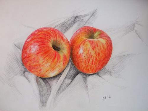 Daniela Böker, N/T, Still life, Plants: Fruits, Naturalism