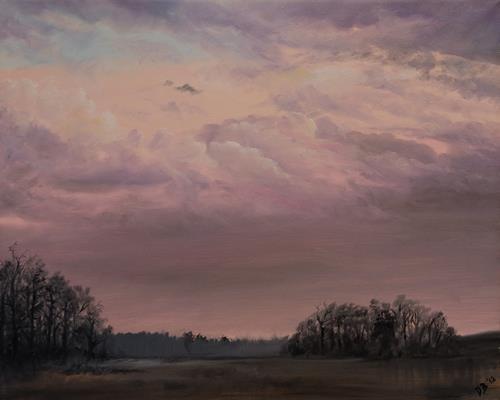 Daniela Böker, N/T, Miscellaneous Landscapes, Nature: Air, Naturalism