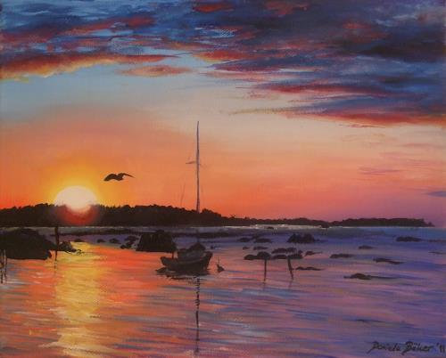 Daniela Böker, Silence, Landscapes: Sea/Ocean, Nature: Water, Naturalism