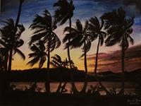 Daniela-Boeker-Landscapes-Sea-Ocean-Landscapes-Tropics-Modern-Times-Realism