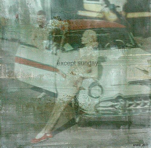 andré schmucki, except sunday - 2011 - andre schmucki, People: Group, Society, New Image Painting