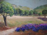 Ellen-Fasthuber-Huemer-Landscapes-Summer-Modern-Age-Impressionism-Post-Impressionism