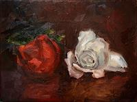 Ellen-Fasthuber-Huemer-Plants-Flowers-Modern-Age-Impressionism-Post-Impressionism