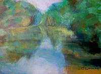 Ellen-Fasthuber-Huemer-Landscapes-Sea-Ocean-Modern-Age-Impressionism-Post-Impressionism