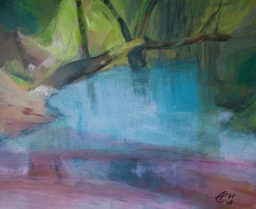 Ellen Fasthuber-Huemer, In der Au, Miscellaneous, Post-Impressionism