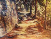 Ellen-Fasthuber-Huemer-Landscapes-Summer-Nature-Miscellaneous-Modern-Age-Impressionism-Post-Impressionism