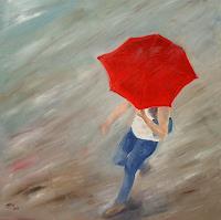 Ellen-Fasthuber-Huemer-People-Women-Movement-Modern-Age-Impressionism-Post-Impressionism