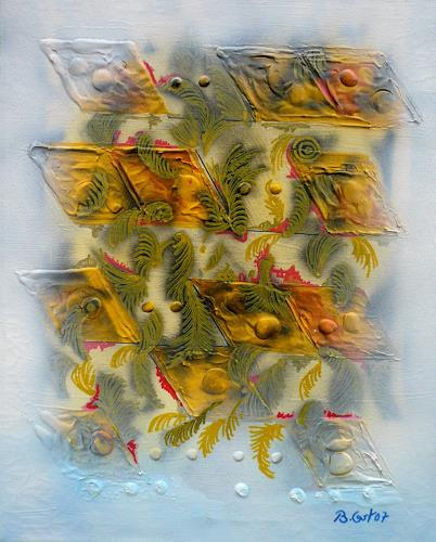 Bernhard Ost, Flying visions, Abstract art, Contemporary Art