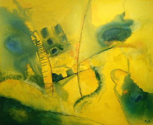 Bernhard Ost, Impressionen aus Sorrent, Miscellaneous, Abstract art, Modern Age