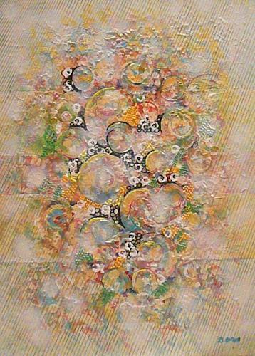 Bernhard Ost, Chaos und Ordnung, Abstract art, Contemporary Art