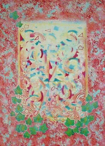 Bernhard Ost, Das Fenster der Zukunft, Abstract art, Contemporary Art