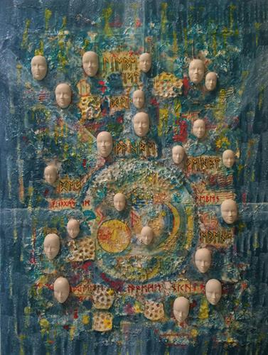 Bernhard Ost, Runenbotschaft, Miscellaneous, Contemporary Art