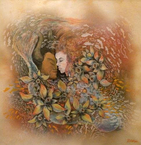 Bernhard Ost, Kuss der Götter, Miscellaneous, Contemporary Art