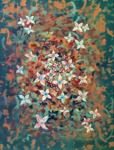 Bernhard Ost, Leben im Leben, Abstract art, Contemporary Art