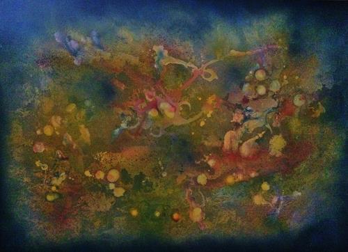 Bernhard Ost, Lebe Deine Träume, Abstract art, Contemporary Art