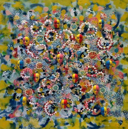 Bernhard Ost, Momente, Fantasy, Mythology, Contemporary Art, Expressionism