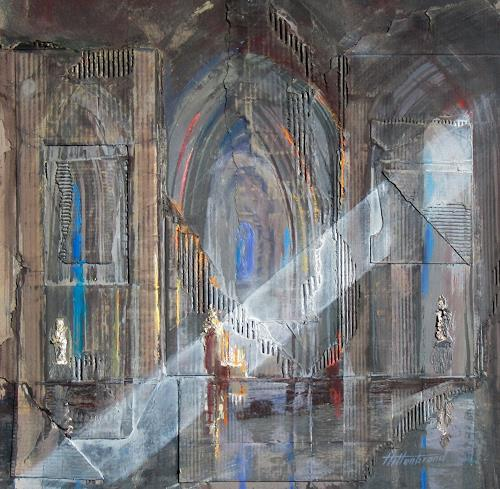 Ernest Hiltenbrand, Nef centrale, Buildings: Churches, Expressionism, Abstract Expressionism