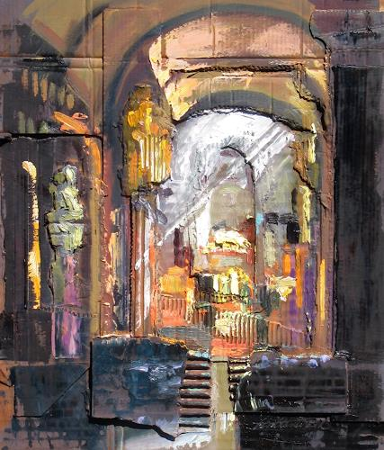 Ernest Hiltenbrand, le choeur, Buildings: Churches, Architecture, Expressionism, Abstract Expressionism