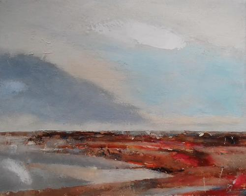 Kestutis Jauniskis, Landscape 6, Landscapes: Sea/Ocean, Colour Field Painting