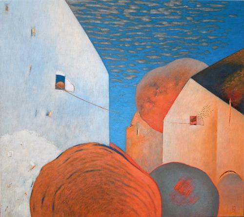 Kestutis Jauniskis, Communication, Architecture, Buildings: Houses, Action Painting, Expressionism
