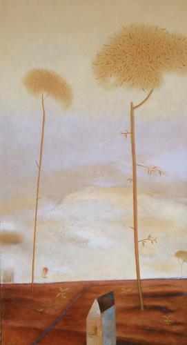 Kestutis Jauniskis, Similarly Shaped, Architecture, Landscapes: Autumn, Contemporary Art, Expressionism