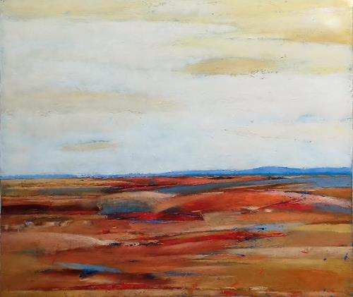 Kestutis Jauniskis, Hills, Landscapes: Hills, Colour Field Painting
