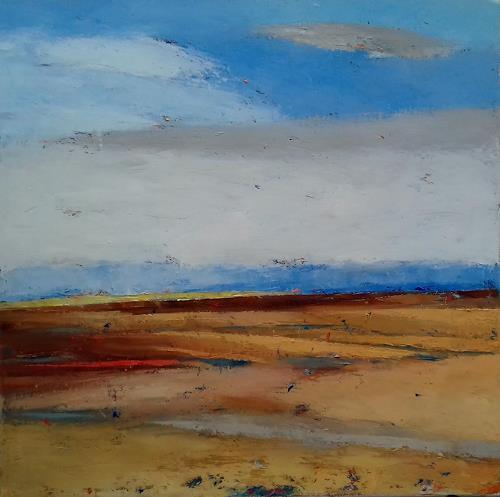 Kestutis Jauniskis, The Plains, Landscapes: Hills, Action Painting