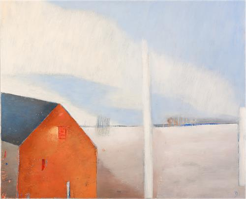 Kestutis Jauniskis, Winter Etude, Landscapes: Winter, Abstract Art