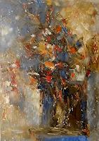 Kestutis-Jauniskis-Plants-Flowers-Modern-Age-Abstract-Art-Action-Painting