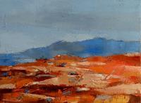 Kestutis-Jauniskis-Landscapes-Hills-Modern-Age-Abstract-Art-Action-Painting
