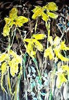 Josef-Fekonja-Abstract-art-Plants-Flowers